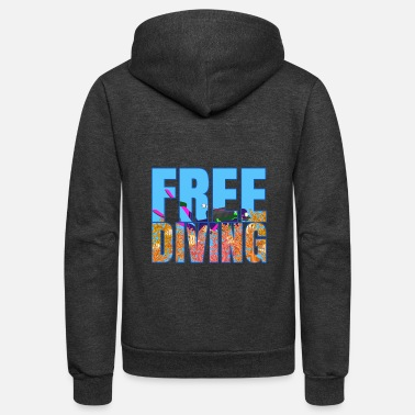 Freenet diving - Unisex Fleece Zip Hoodie