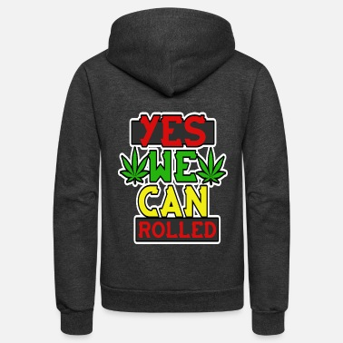 Hustle Yes we can rolled 2 - Unisex Fleece Zip Hoodie
