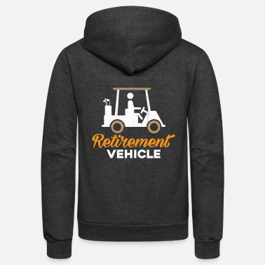 Vehicle RETIREMENT VEHICLE - Unisex Fleece Zip Hoodie