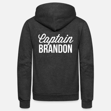 Brandon Captain Brandon - Unisex Fleece Zip Hoodie