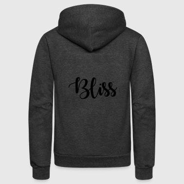 Bliss - Unisex Fleece Zip Hoodie
