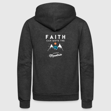 Christian Quote - Unisex Fleece Zip Hoodie