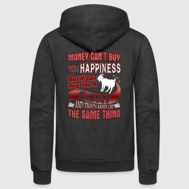 BUT IT CAN BUT YOU A GOAT - Unisex Fleece Zip Hoodie