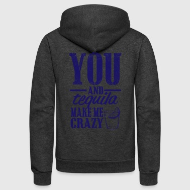 09 you and tequila copy - Unisex Fleece Zip Hoodie