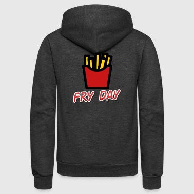 Fry Day - Unisex Fleece Zip Hoodie