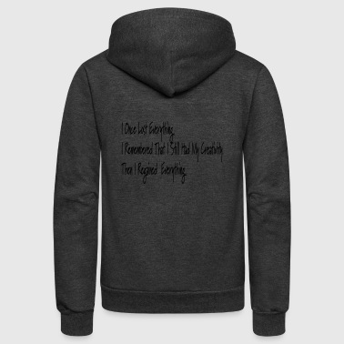 My Motto - Unisex Fleece Zip Hoodie