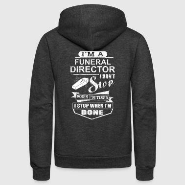 Funeral Director - I'm A Funeral Director - Unisex Fleece Zip Hoodie