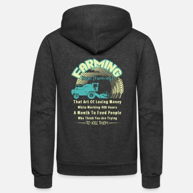 Farming FARMING DEFINITION SHIRT - Unisex Fleece Zip Hoodie