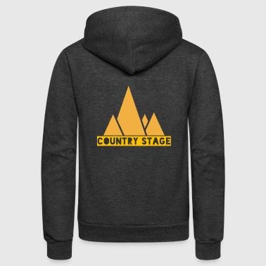 Country Stage - Unisex Fleece Zip Hoodie
