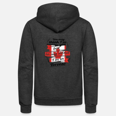 Toronto URLAUB HOME ROOTS TRAVEL Kanada Canada Toronto - Unisex Fleece Zip Hoodie