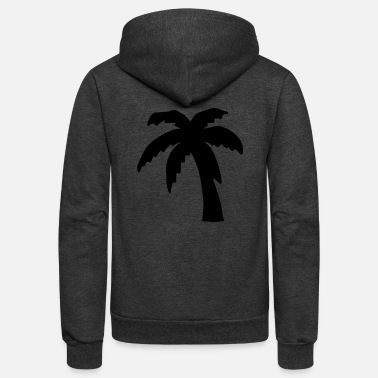 Palm Tree Palm tree - Unisex Fleece Zip Hoodie