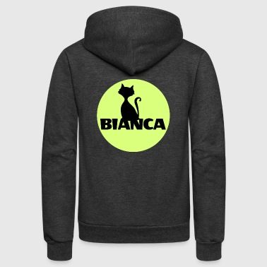 Bianca name first name - Unisex Fleece Zip Hoodie