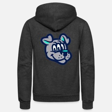 Dog Head Dog Head - Unisex Fleece Zip Hoodie