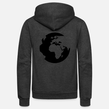 Global global - Unisex Fleece Zip Hoodie