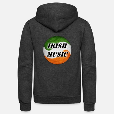 Irish Music irish music - Unisex Fleece Zip Hoodie
