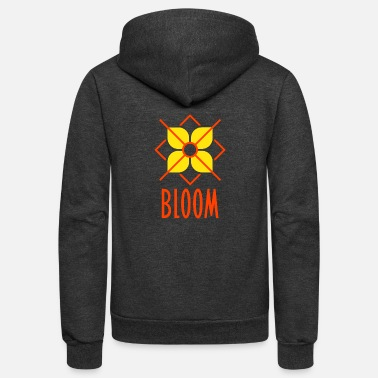 Bloom Bloom - Unisex Fleece Zip Hoodie