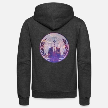 Anonymous Cosmic Anonymous - Unisex Fleece Zip Hoodie
