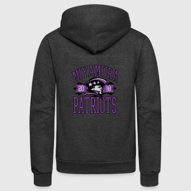 Miyamura High School Patriots - Unisex Fleece Zip Hoodie