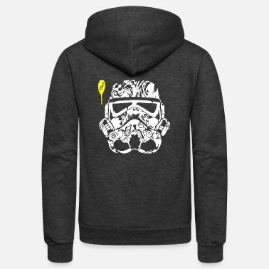 Tatoo Stormtrooper Tatoo - Unisex Fleece Zip Hoodie