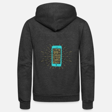 Mobile Phone Generation mobile phone - Unisex Fleece Zip Hoodie