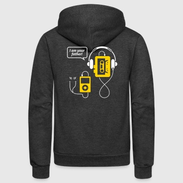 MP3 Player,I'm Your Father! - Unisex Fleece Zip Hoodie