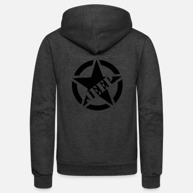 Star Jeep ARMY - Unisex Fleece Zip Hoodie
