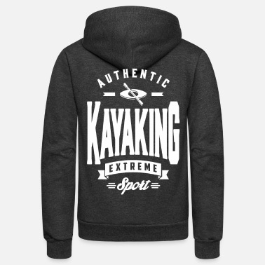 Sports Kayaking Sport - Unisex Fleece Zip Hoodie