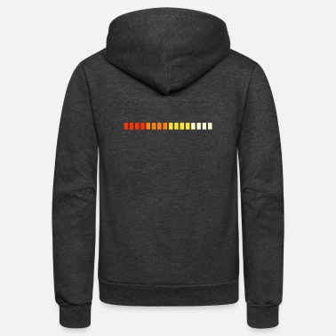 Synthesizer Minimal Synthesizer Design - Unisex Fleece Zip Hoodie