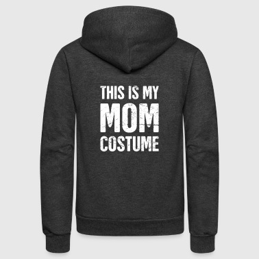 Mom Costume | Halloween Costume Party - Unisex Fleece Zip Hoodie
