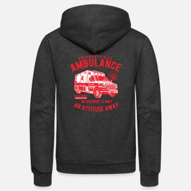Ambulance Ambulance - Unisex Fleece Zip Hoodie
