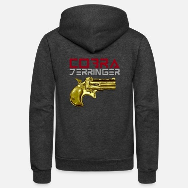 Derringers Cobra Derringer - Unisex Fleece Zip Hoodie