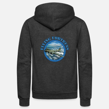 Fortress Flying Fortress - Unisex Fleece Zip Hoodie
