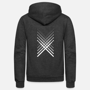 Stick Percussion Drum Sticks | Marching Band - Unisex Fleece Zip Hoodie