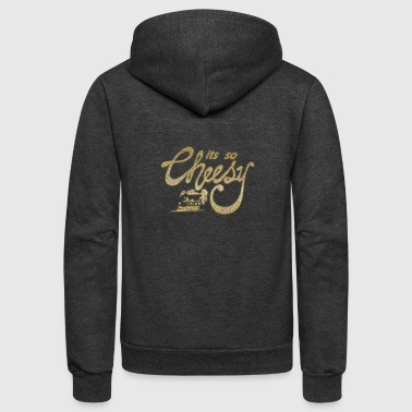 Cheese - Unisex Fleece Zip Hoodie