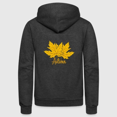 Fall - Unisex Fleece Zip Hoodie