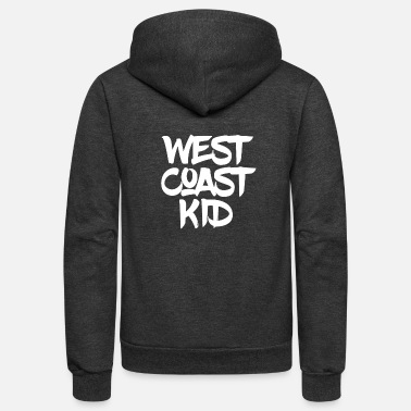 West Coast Kid WEST COAST KID - Unisex Fleece Zip Hoodie