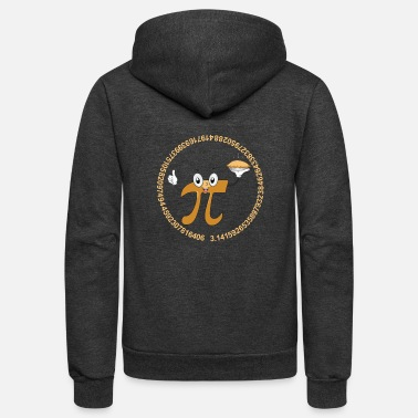 Pi Pi day - awesome pi day t-shirt for pi day lover - Unisex Fleece Zip Hoodie