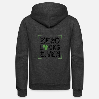 Beer Funny Irish Quote St Patricks Day Design - Unisex Fleece Zip Hoodie