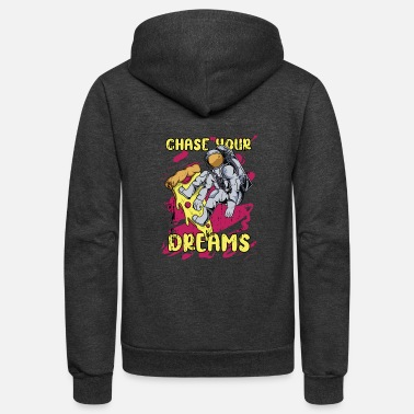 Chase Your Dreams chase your dreams - Unisex Fleece Zip Hoodie