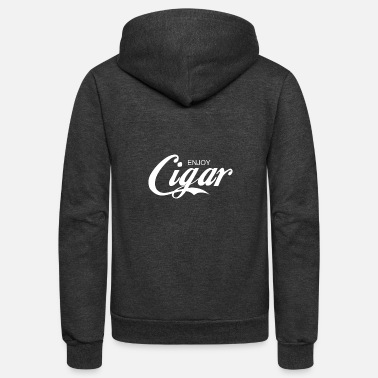 Cigar enjoy CIGAR - Unisex Fleece Zip Hoodie