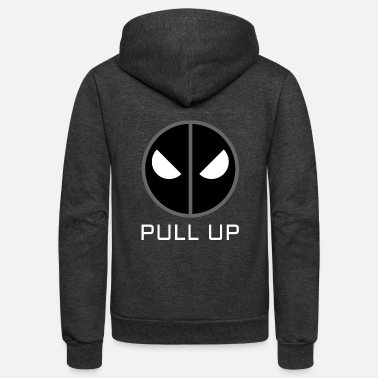 Gang Bang Angry Eyes Aggressive Eyes - PULL UP Edition - Unisex Fleece Zip Hoodie