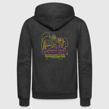 A Mardi Gras Masquerade Franklin High Homecoming - Unisex Fleece Zip Hoodie