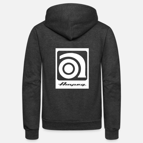 Ampeg Hoodies & Sweatshirts - AMPEG new - Unisex Fleece Zip Hoodie charcoal gray