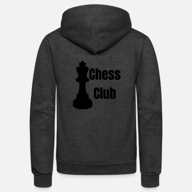Chess Club chess club - Unisex Fleece Zip Hoodie