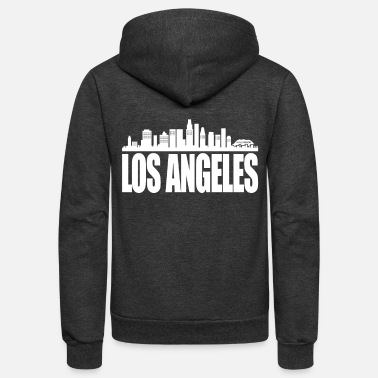 Los Angeles Los Angeles - Unisex Fleece Zip Hoodie