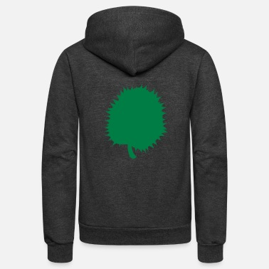 South East Asia durian fruit of South east ASIA - Unisex Fleece Zip Hoodie
