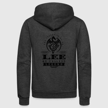 LEE - Unisex Fleece Zip Hoodie