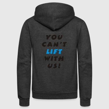 Lifting - Unisex Fleece Zip Hoodie