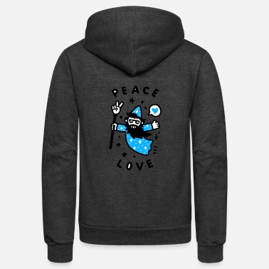 Wizard Coolest Wizard - Unisex Fleece Zip Hoodie