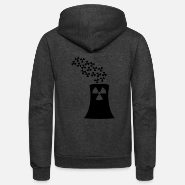 Nuclear Power nuclear power - Unisex Fleece Zip Hoodie
